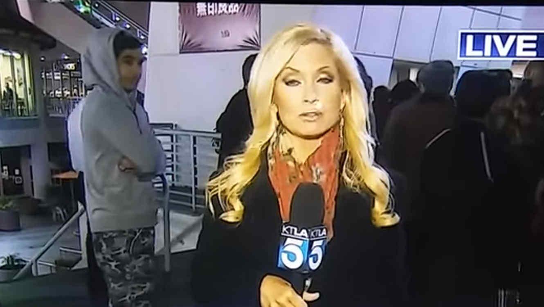 La periodista Mary Beth McDade es agredida durante transmisión en vivo