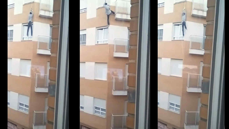 Hombre cae de un cuarto piso y muere