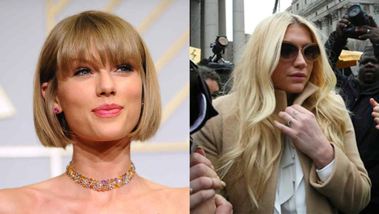 Taylor Swift and Kesha
