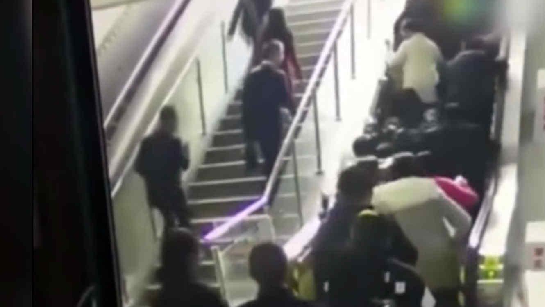 Escaleras eléctricas causan pánico en China