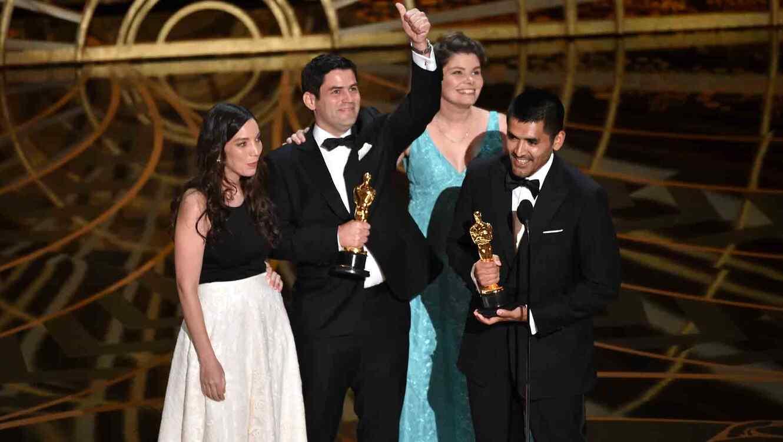 Pato Escala y Gabriel Osorio en premios Oscar 2016