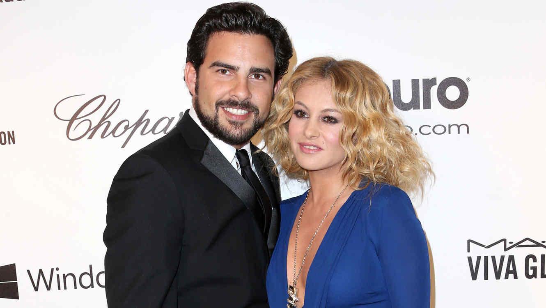 Paulina Rubio y Gerardo Bazúa