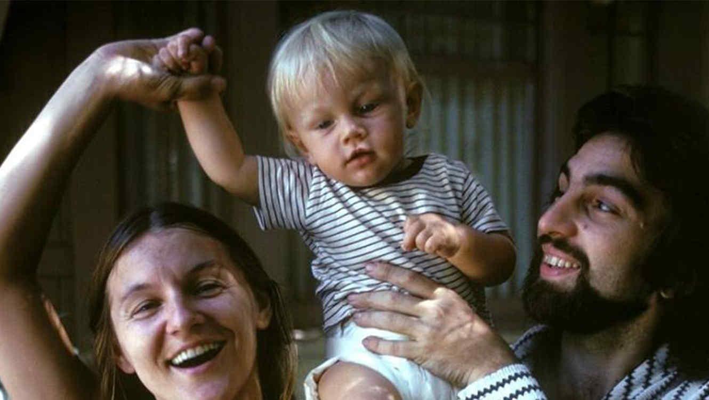 Esta foto de bebé de Leonardo DiCaprio, está dando de que hablar