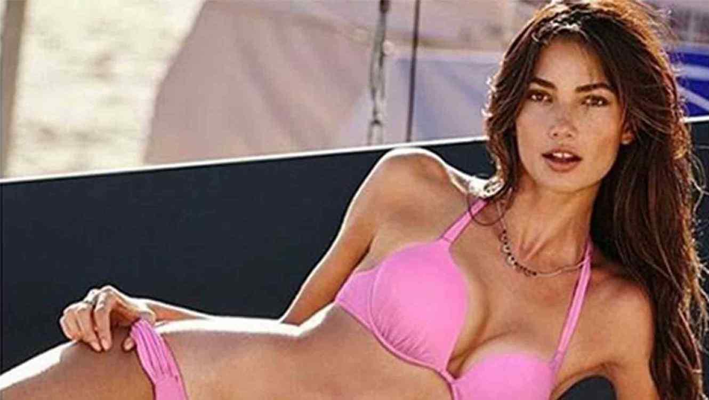Lily Aldridge en bikini
