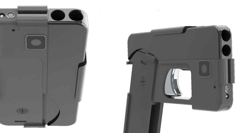 Denuncian una pistola que parece un celular