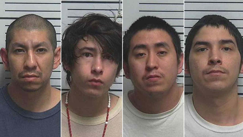 Cuatro hombres son acusados de violar a una niña de nueve años