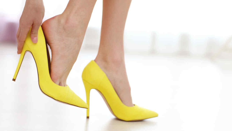 Zapatos amarillos para mujer SZTc2qI
