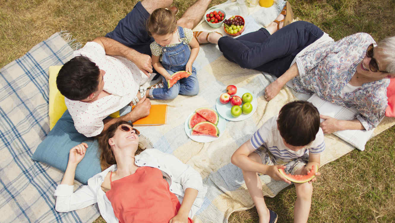 5 ideas para picnic lista de comidas saludables para - Comida para llevar de picnic ...