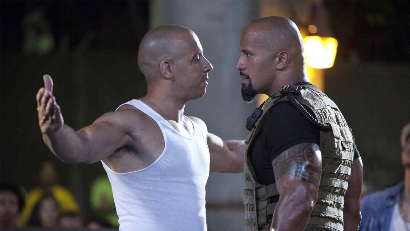 "Vin Diesel vs. Dwayne ""The Rock"" Johnson"