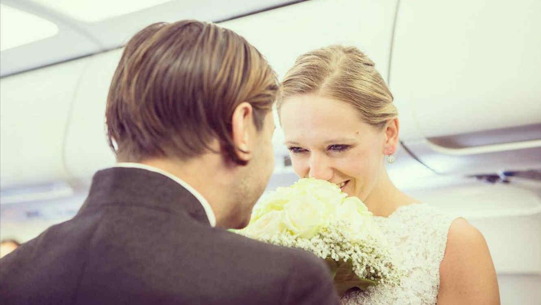 Este Hombre Le Propuso Matrimonio A Su Novia En Pleno Vuelo Y Se