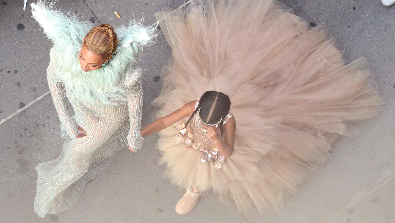 Beyonce y Blue Ivy en los MTV Video Music Awards 2016