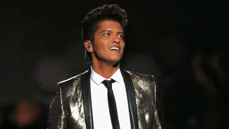 Bruno Mars en el SuperBowl 2014