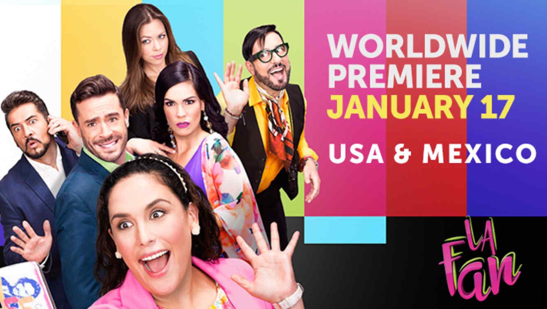 La Fan_Worldwide Premiere_Poster