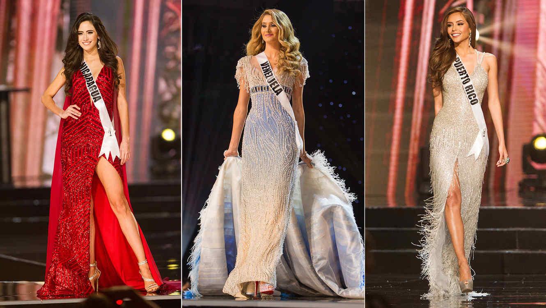 Miss universo 2018 vestidos de noche