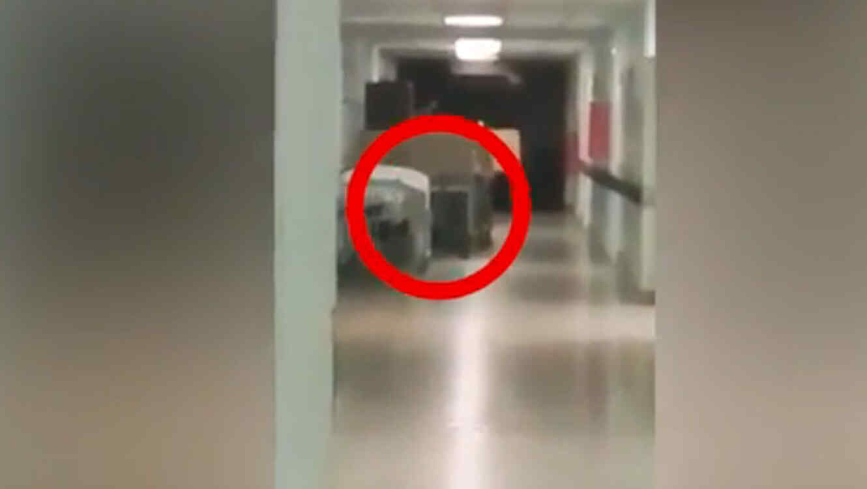 Enfermeras captan el supusto fantasma de un niño (VIDEO)