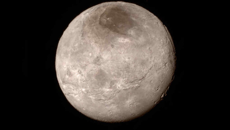 Luna Caronte, de Plutón