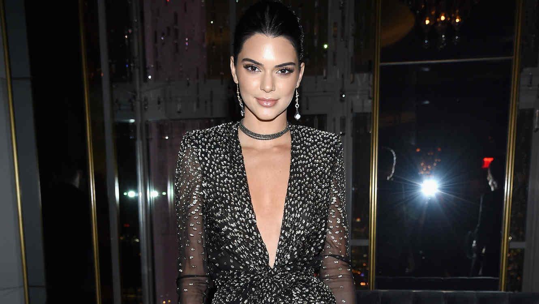 Kendall Jenner en la fiesta de aniversario de Harpers Bazaar