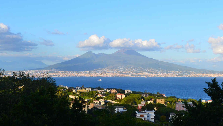 Campi Flegrei, en Nápoles