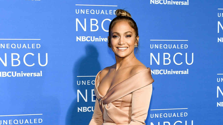 Jennifer Lopez en el upfront NBCU 2017
