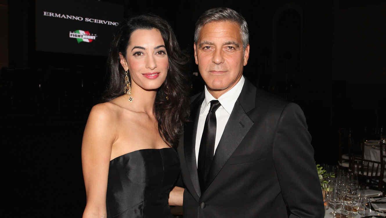 George Clooney ya es papá de mellizos