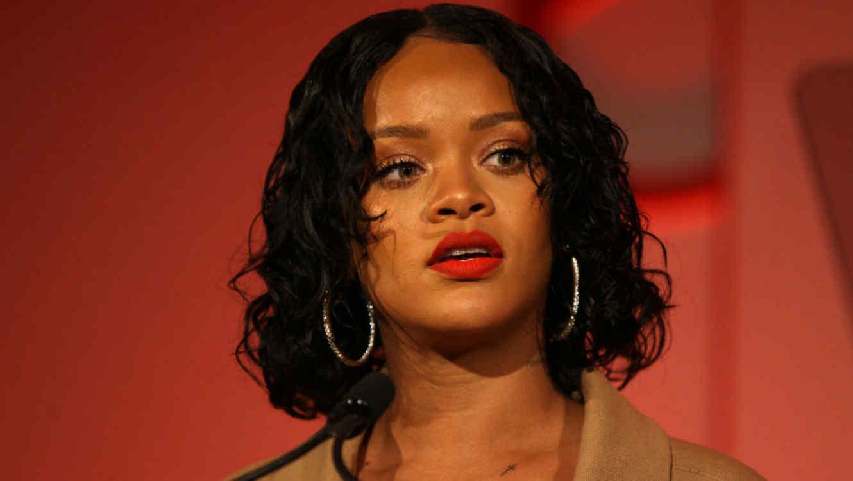 Rihanna en la gala Parsons Benefit