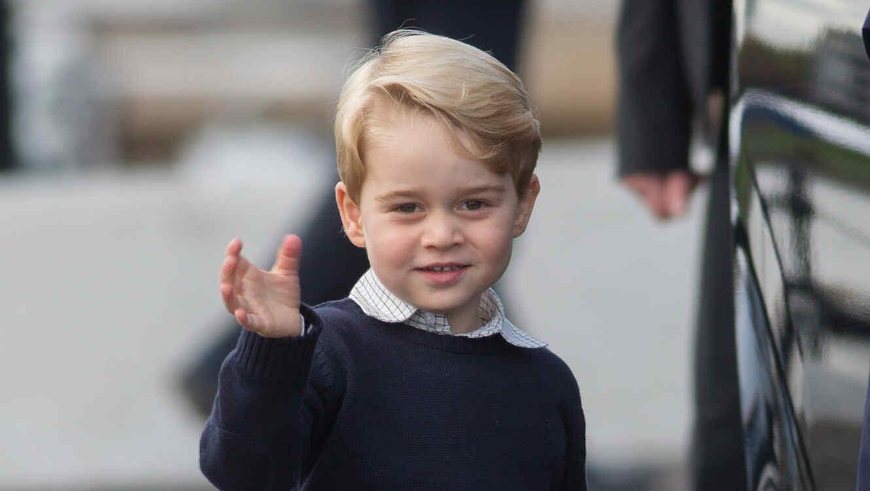 El príncipe George cumplirá 4 años y no oculta su sonrisa