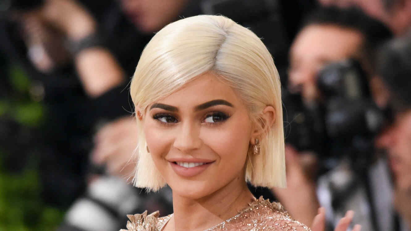Kylie Jenner rubia