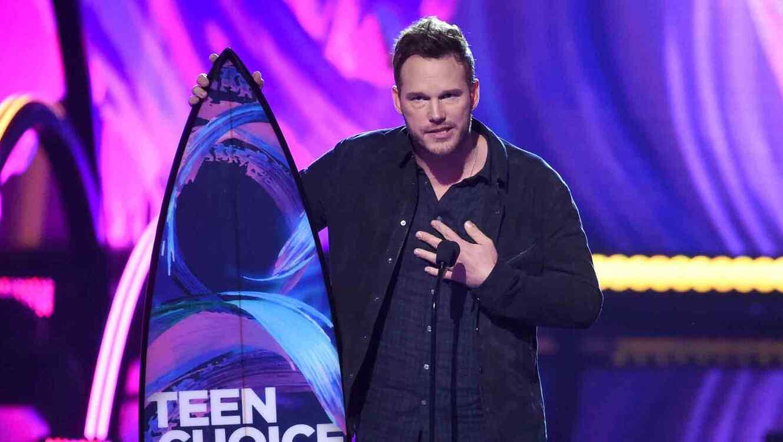 Chris Pratt en los Teen Choice Awards 2017