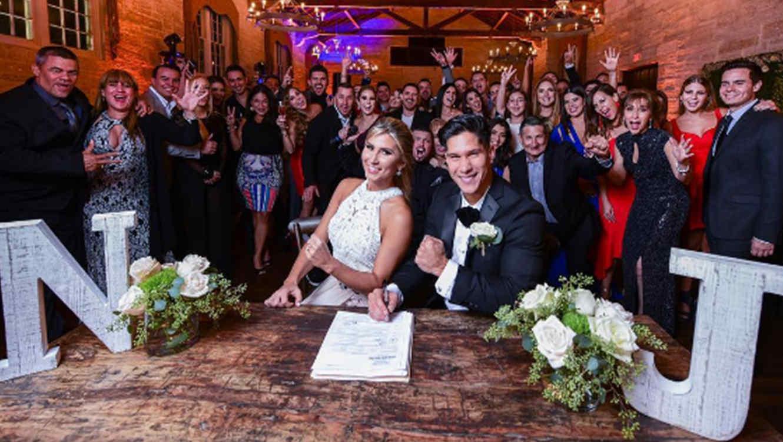 Chyno Miranda and Natasha Araos's Wedding