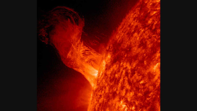 La mayor llamarada del Sol en 12 años