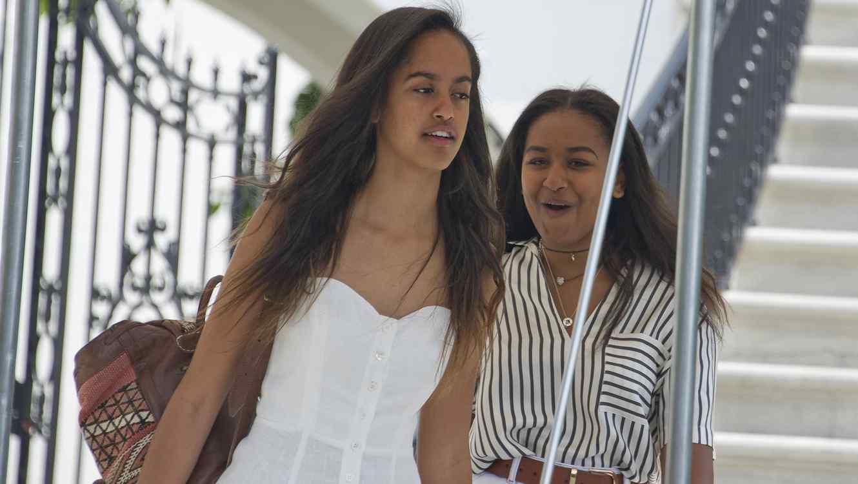 Malia y Sasha Obama