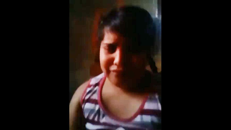 Niña se quiere suicidar (VIDEO)