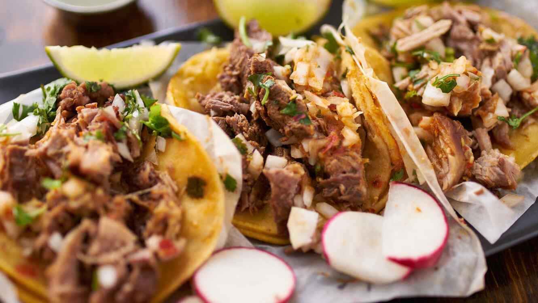 Plato con tacos