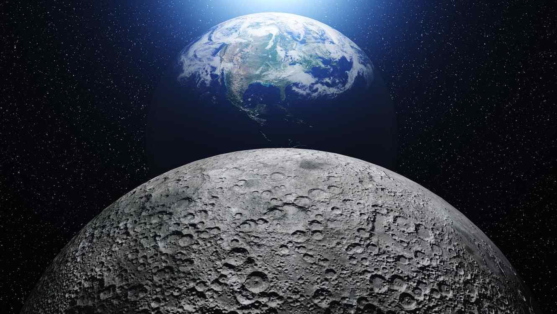 Resultado de imagen de la NASA descubrió acerca de la Luna