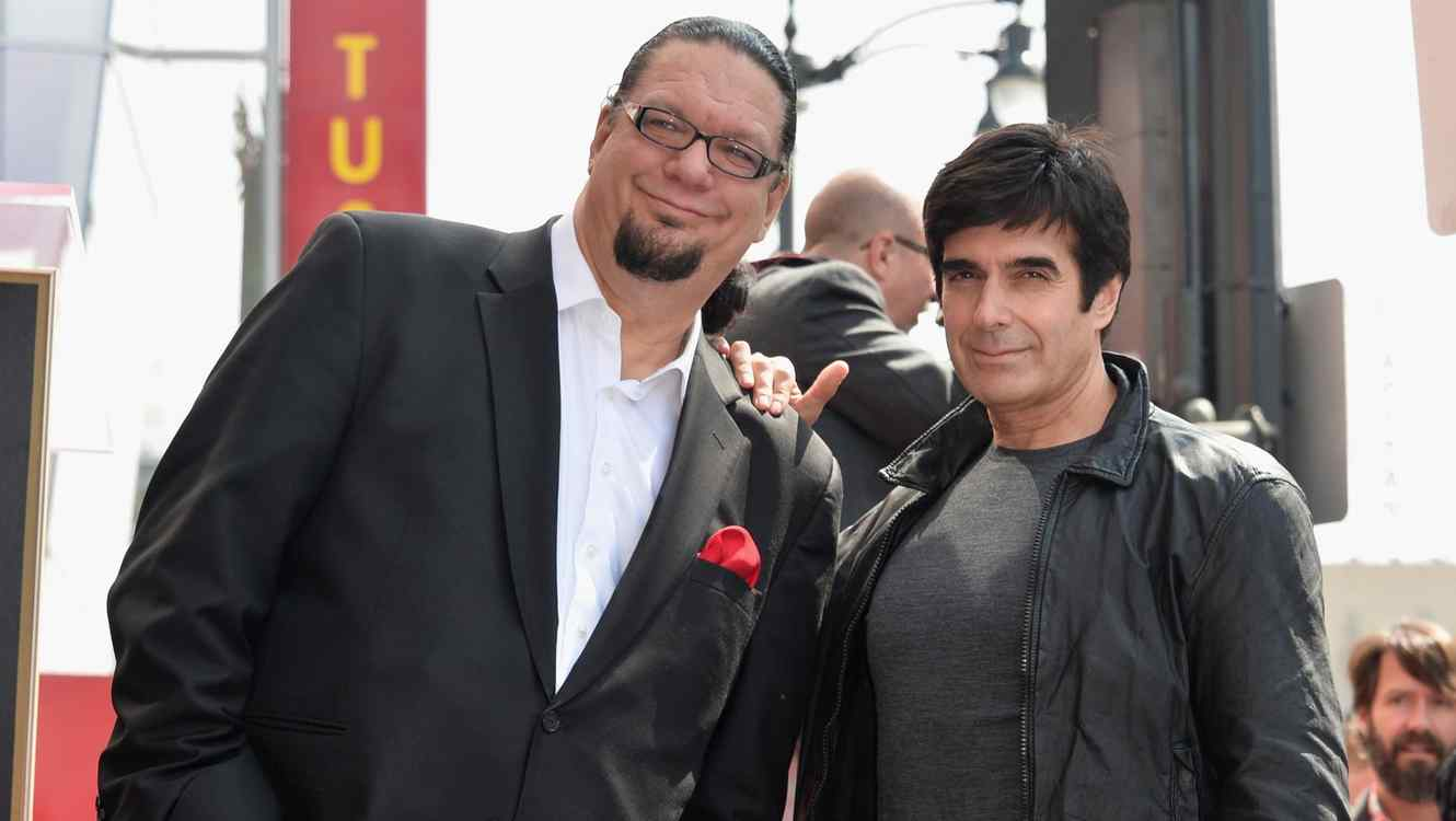 Penn Jillette y David Copperfield