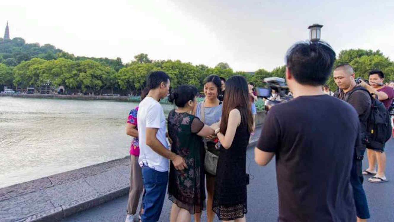 Una pareja china deja a su recién nacida a su suerte