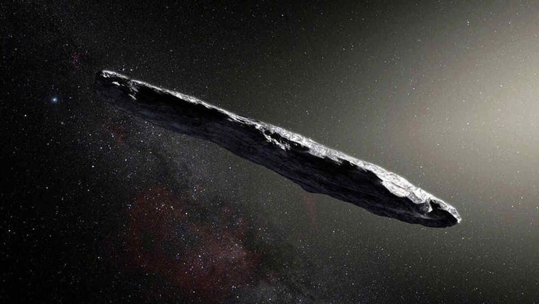 ¿Mensaje alienígena? Llega el primer objeto interestelar