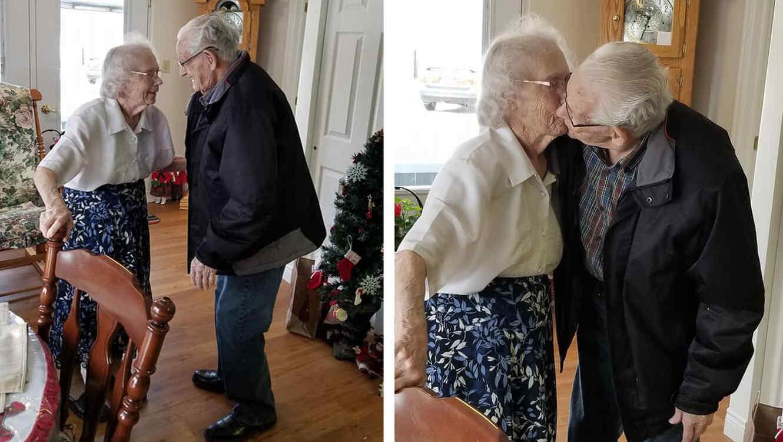 Después de 70 años juntos, la Navidad más triste para estos abuelos