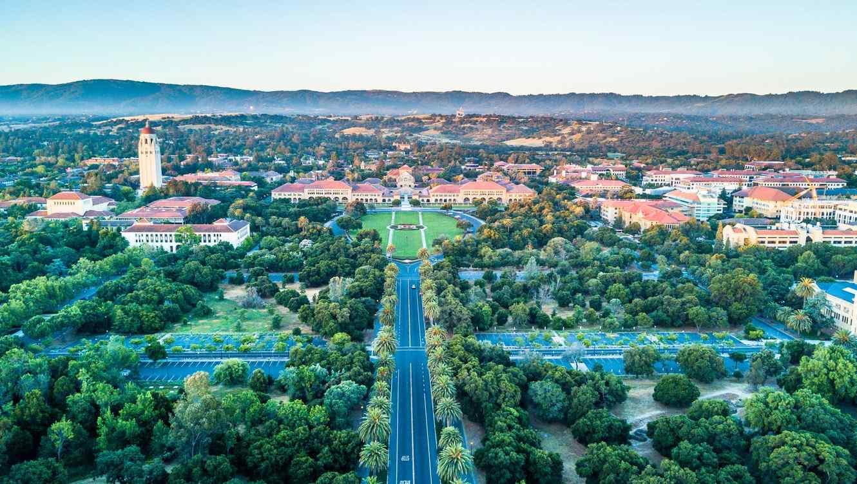 Campus de la Universidad de Stanford en Palo Alto, California