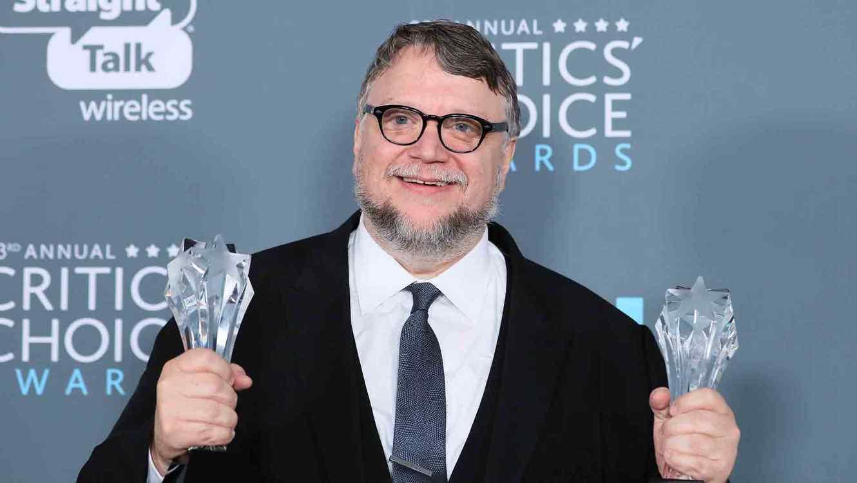 Guillermo del Toro en los Critics' Choice Awards 2018