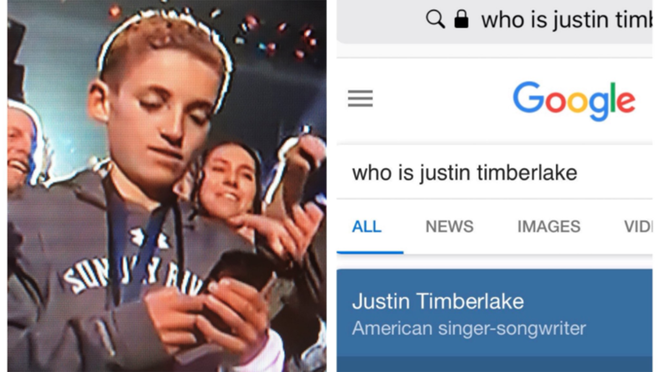 superbowl memes 2018?itok=LWcMm4IJ selfie kid, kevin hart, justin timberlake's outfit and more memes