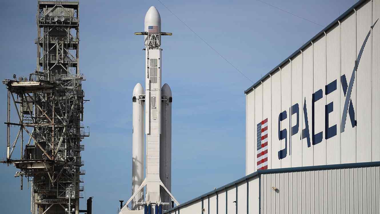 Cohete espacial Falcon Heavy