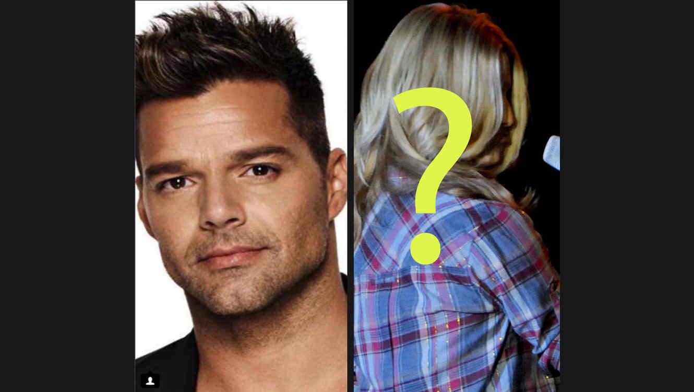 Ricky Martin y famosa
