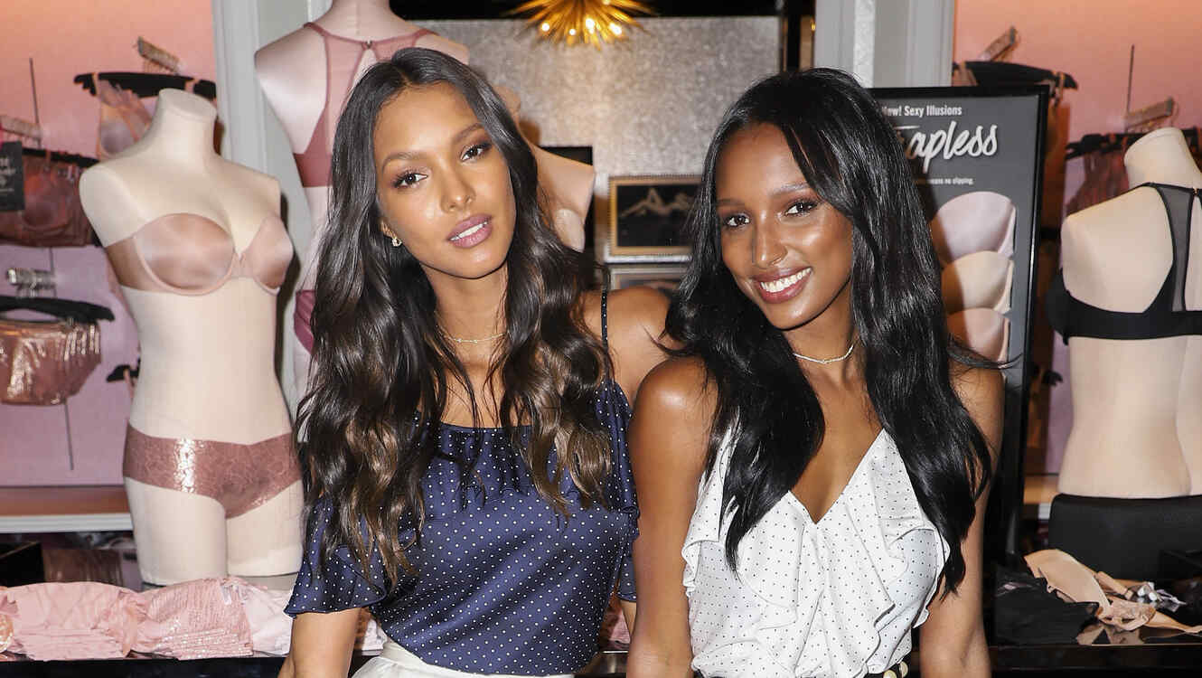 VS Angels Lais Ribiero and Jasmine Tookes Keep Up The Sexy in Miami