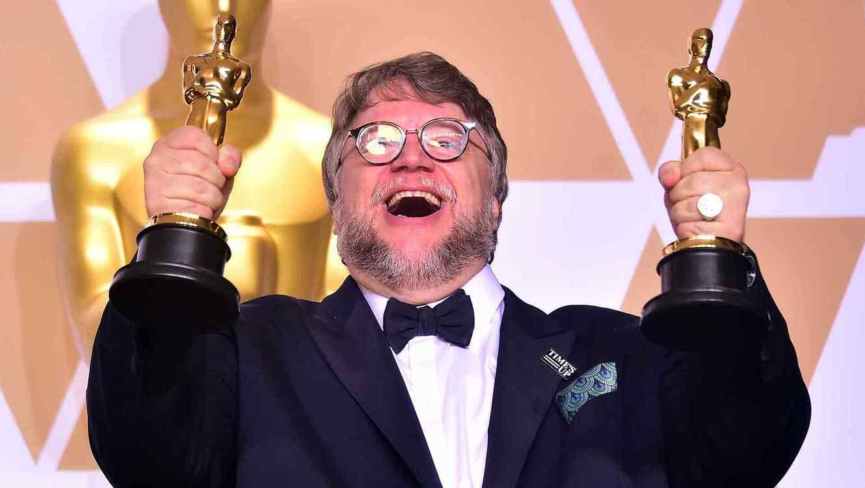Guillermo del Toro en los 2018 Oscars