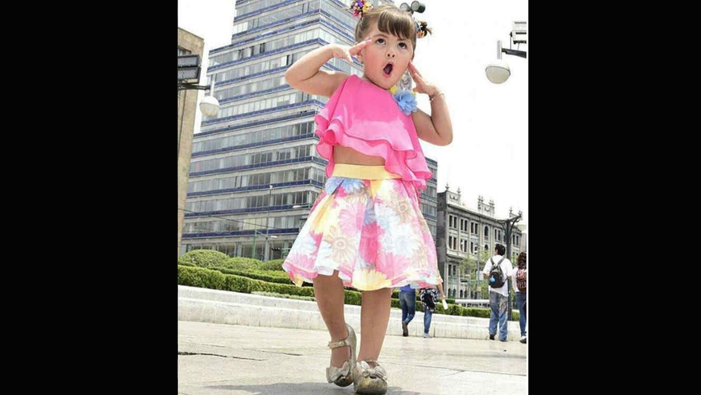 Hija de Cristian Castro causa polémica por baile