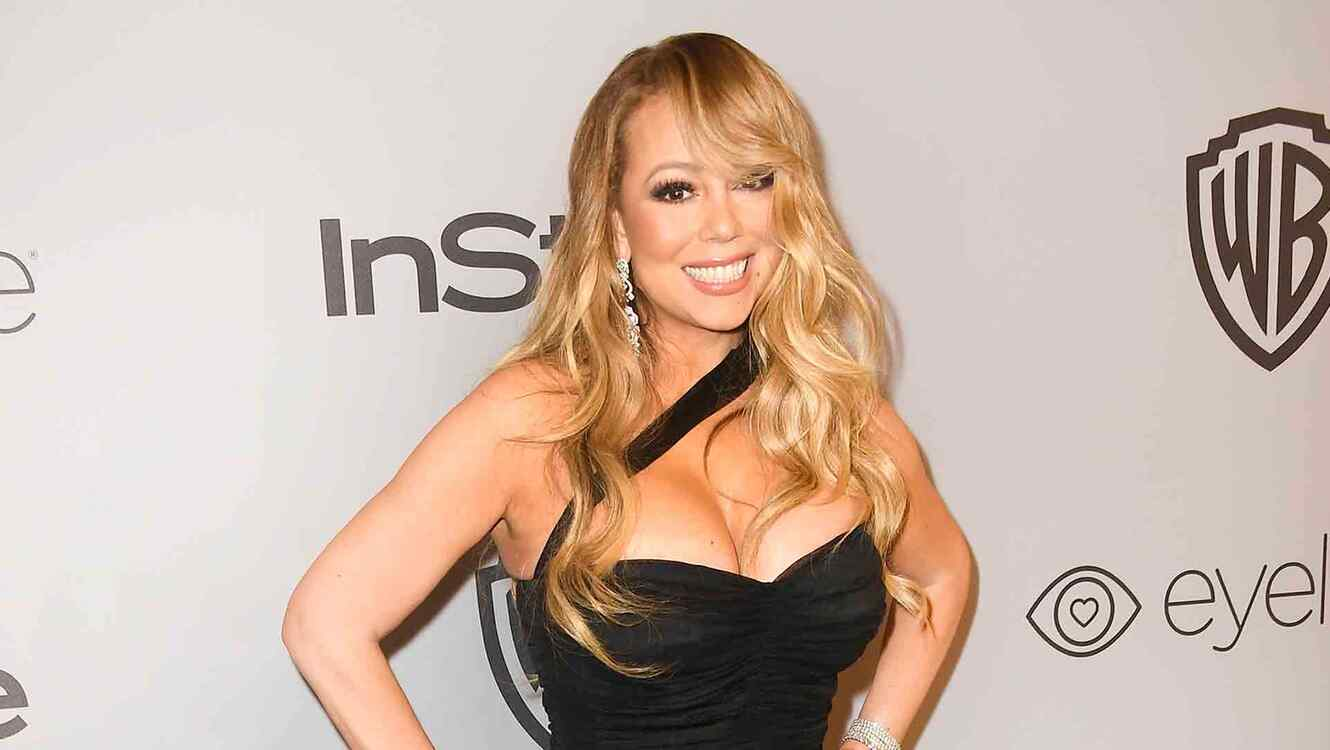 Mariah Carey at Warner Bros. Pictures And InStyle Post-Golden Globes Party 2018