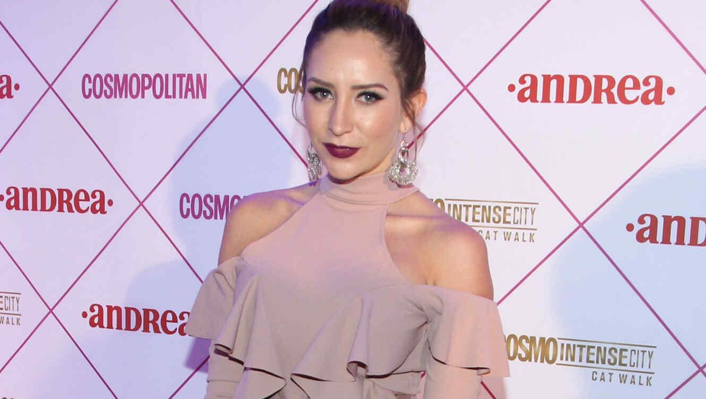 Geraldine Bazán en un evento de Cosmopolitan