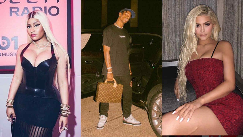 878383e9f420 Nicki Minaj Blames Kylie Jenner, Travis Scott and Spotify Over ...