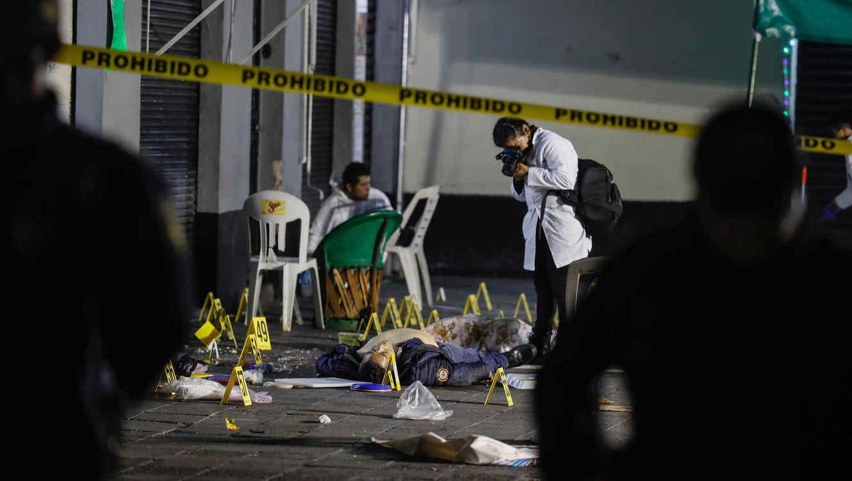 4 heridos y tres muertos — Balacera en Garibaldi